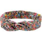 Wire headband retro multi letters - PPMC