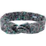 Wire headband retro green azure flower - PPMC