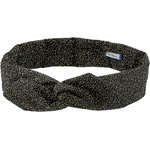 Wire headband retro noir pailleté - PPMC