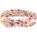 Wire headband retro flowers origamis  - PPMC
