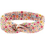 Wire headband retro pink meadow - PPMC