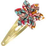 Star flower hairclip peach flower - PPMC