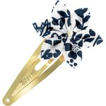 Star flower hairclip scandinave navy blue - PPMC