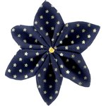 Star flower 4 hairslide etoile or marine  - PPMC