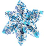 Star flower 4 hairslide azure mini flower - PPMC