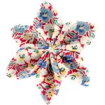 Star flower 4 hairslide carnations jeans - PPMC