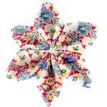 Pasador flor estrella claveles jean - PPMC