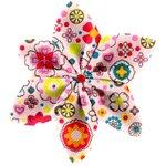 Pasador flor estrella pradera rosa - PPMC