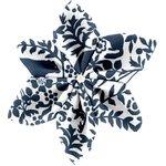 Pasador flor estrella escandinava marina - PPMC
