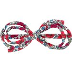 Barrette noeud arabesque coquelicot - PPMC