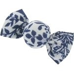 Mini sweet hairslide scandinave navy blue - PPMC