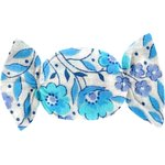Small sweet hair slide azure mini flower - PPMC