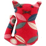 Small cat hair slide paprika petal - PPMC