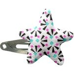 Star hair-clips neon shards - PPMC