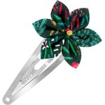 Star flower hairclip deer - PPMC