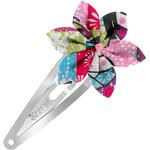 Star flower hairclip kokeshis - PPMC