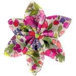 Pasador flor estrella pradera púrpura - PPMC
