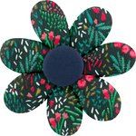 Fabrics flower hair clip deer - PPMC