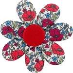 Pasador flor margarita  amapola - PPMC