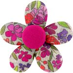 Mini flower hair slide purple meadow - PPMC