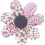 Pasador flor margarita  rosetón - PPMC