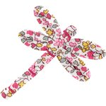 Dragonfly hair slide pink jasmine - PPMC