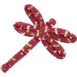 Dragonfly hair slide ruby dragonfly - PPMC