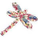 Dragonfly hair slide carnations jeans - PPMC