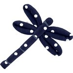 Dragonfly hair slide navy blue spots - PPMC