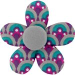 Mini flower hair slide purple provence - PPMC