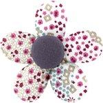Petite barrette mini-fleur rosace - PPMC