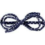 Arabesque bow hair slide etoile or marine  - PPMC