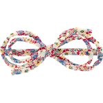 Barrette noeud arabesque oeillets jean - PPMC