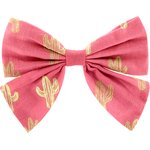 Bow tie hair slide gold cactus - PPMC