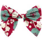 Bow tie hair slide ruby cherry tree - PPMC