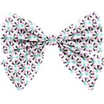 Bow tie hair slide neon shards - PPMC