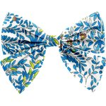 Barrette noeud papillon forêt bleue - PPMC