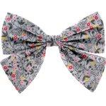 Barrette noeud papillon liane fleurie - PPMC