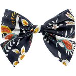 Bow tie hair slide lyrebird - PPMC