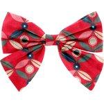 Bow tie hair slide paprika petal - PPMC