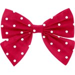 Bow tie hair slide red spots - PPMC