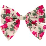 Barrette noeud papillon rose blush - PPMC