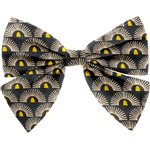 Bow tie hair slide inca sun - PPMC
