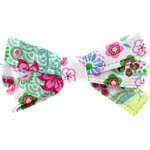 Barrette noeud ruban bulles de printemps - PPMC