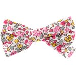Ribbon bow hair slide pink jasmine - PPMC