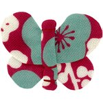 Butterfly hair clip ruby cherry tree - PPMC