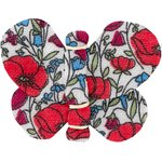 Butterfly hair clip poppy - PPMC