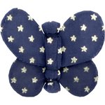 Butterfly hair clip etoile marine or - PPMC