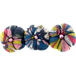 Pumpkin hair slide pink blue dalhia - PPMC