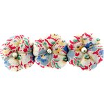 Pumpkin hair slide carnations jeans - PPMC